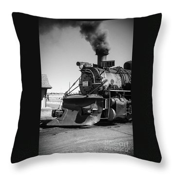 No. 489 Engine Throw Pillow