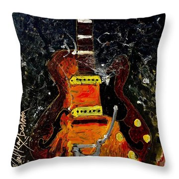 No #7 Throw Pillow