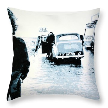 No Direction Home Throw Pillow