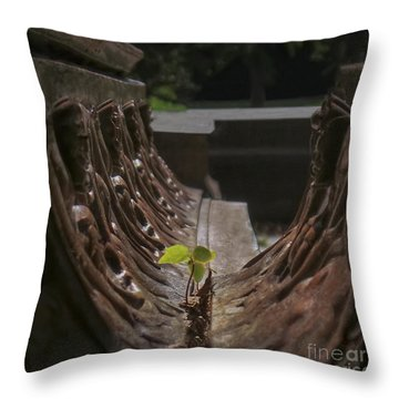 No Excuses Throw Pillow