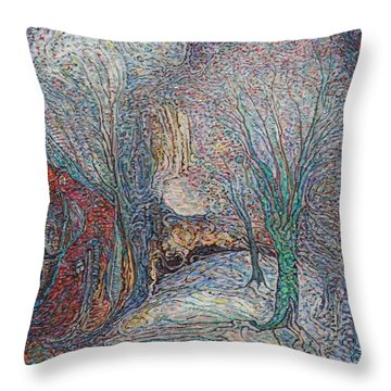 No Frost Yet Throw Pillow