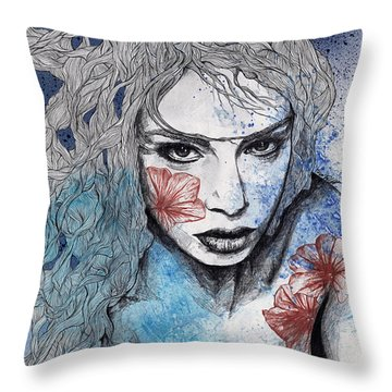 No Hope In Sight Throw Pillow