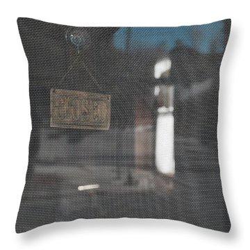 No Interest  Throw Pillow