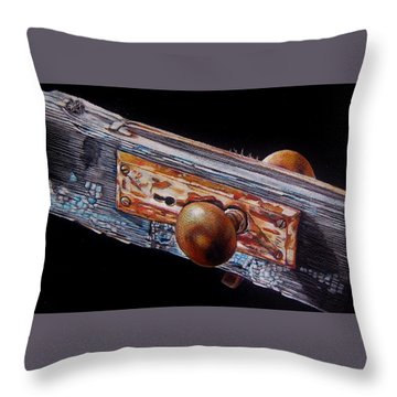No Longer Useful For Its Intended Purpose Throw Pillow by Jean Cormier