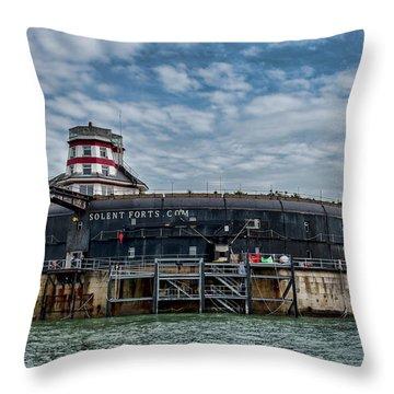 No Mans Fort Throw Pillow