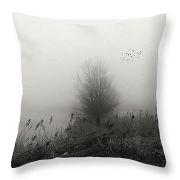 No Man's Land Throw Pillow