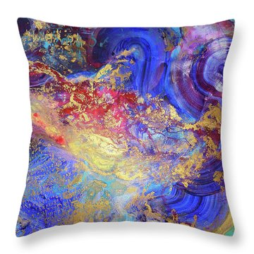 No Mind Throw Pillow