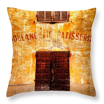 Throw Pillow featuring the photograph No More Bread by Olivier Le Queinec