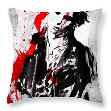No More Violence Throw Pillow