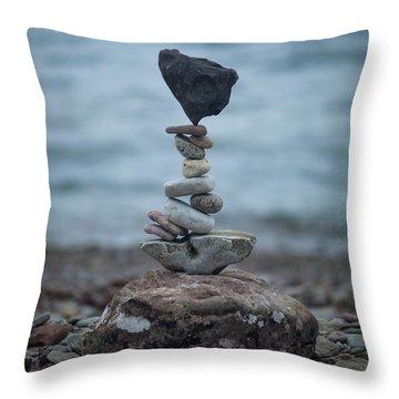 Zen Stack #6 Throw Pillow