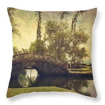 No Need To Worry Now Throw Pillow