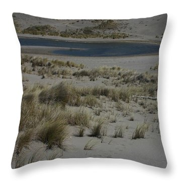 No One Is Around Throw Pillow