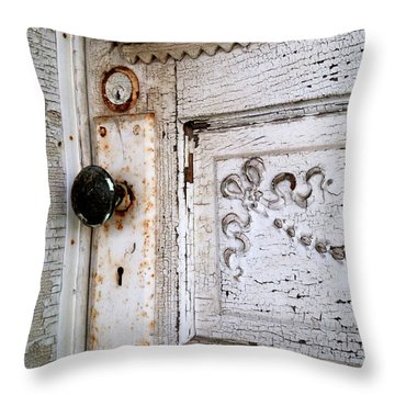 No One's Home Throw Pillow by Scott Kingery