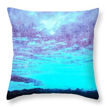 No Ordinary Sunset Throw Pillow