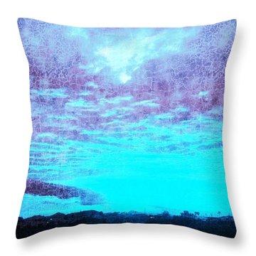 No Ordinary Sunset Throw Pillow