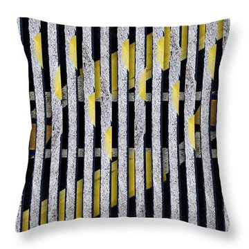 Throw Pillow featuring the photograph No Parking Number 1 by Carol Leigh