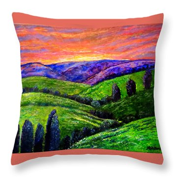 No Place Like The Hills Of Tennessee Throw Pillow