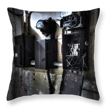 No Power Throw Pillow