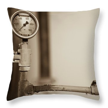 No Pressure Throw Pillow