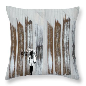 Throw Pillow featuring the photograph No Rain Forest by LemonArt Photography