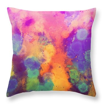 No Rain IIi Throw Pillow