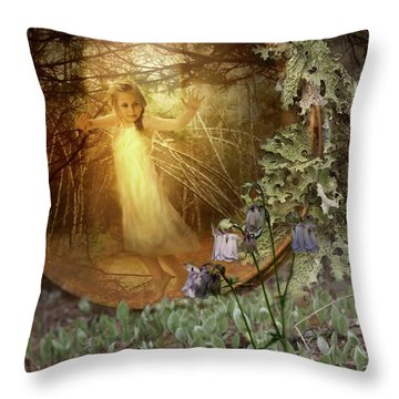 No Such Thing As Elves Throw Pillow