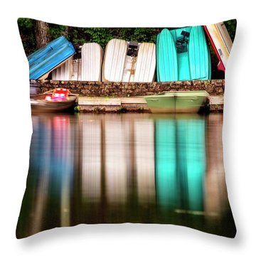 Throw Pillow featuring the photograph No Takers by Alan Raasch
