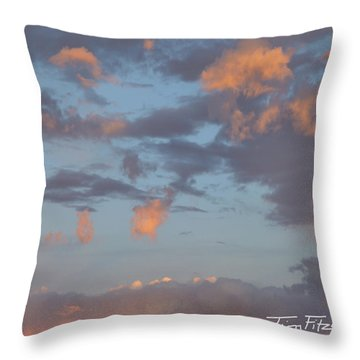 No Tears In Heaven Throw Pillow by Tim Fitzharris
