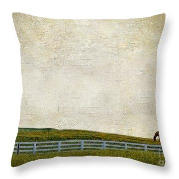 No Time Throw Pillow