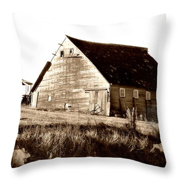 No Use Throw Pillow by Julie Hamilton