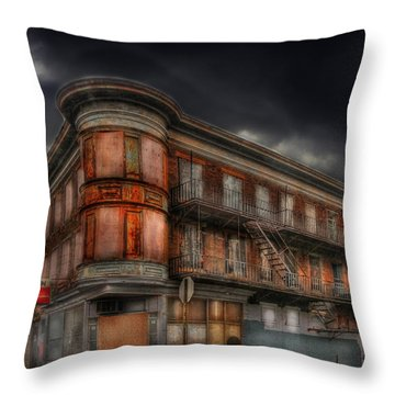 No Vacancy Throw Pillow by Shelley Neff