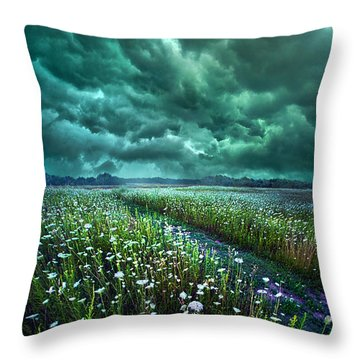 No Way Out Throw Pillow by Phil Koch