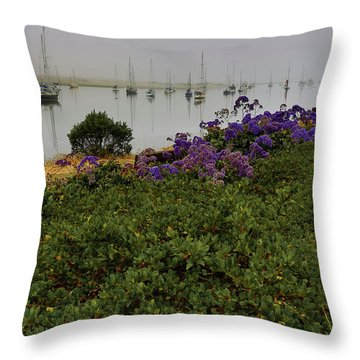 No Wind For Sailing Throw Pillow