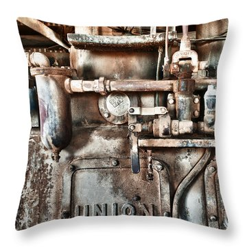 No Work For Me Throw Pillow by Sandra Bronstein