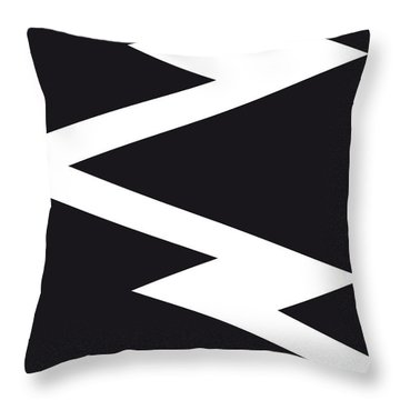 No012 My Death Proof Minimal Movie Car Poster Throw Pillow