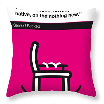 No015-my-murphy-book-icon-poster Throw Pillow