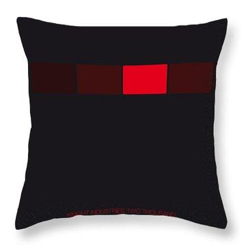 No019 My Knight Rider Minimal Movie Car Poster Throw Pillow