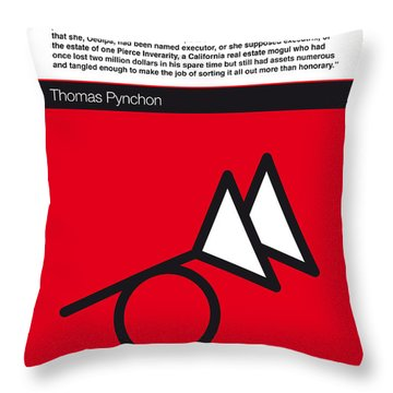 No023-my-the Crying Of Lot 49-book-icon-poster Throw Pillow