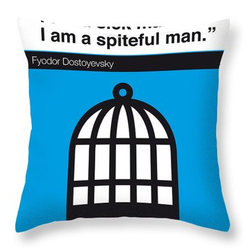 No031-my-notes From Underground-book-icon-poster Throw Pillow