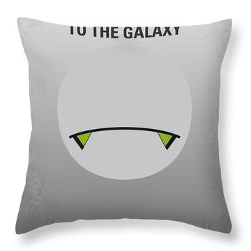 No035 My Hitchhiker Guide Minimal Movie Poster Throw Pillow
