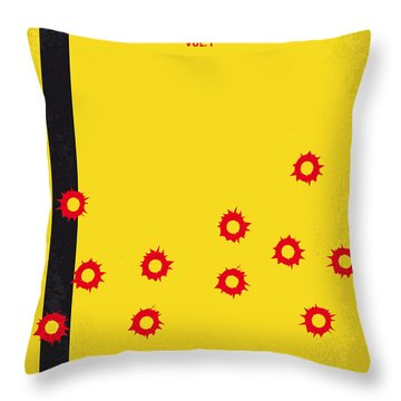No048 My Kill Bill -part 1 Minimal Movie Poster Throw Pillow