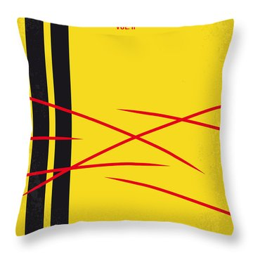 No049 My Kill Bill-part2 Minimal Movie Poster Throw Pillow