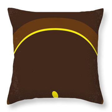No068 My Raiders Of The Lost Ark Minimal Movie Poster Throw Pillow by Chungkong Art