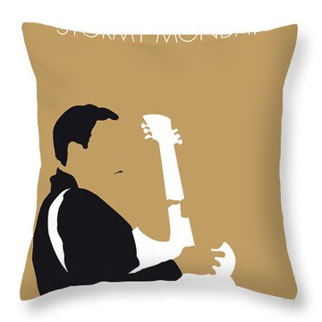 No070 My Tbone Walker Minimal Music Poster Throw Pillow