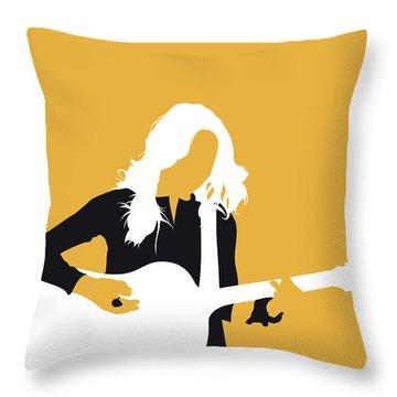 No074 My Sheryl Crow Minimal Music Poster Throw Pillow