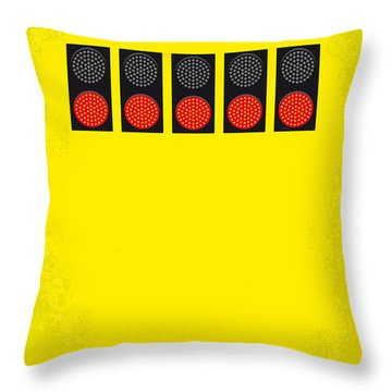 No075 My Senna Minimal Movie Poster Throw Pillow