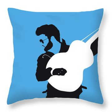 No089 My George Michael Minimal Music Poster Throw Pillow