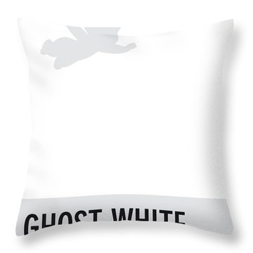 No09 My Minimal Color Code Poster Casper Throw Pillow