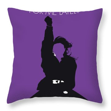 No091 My Janet Jackson Minimal Music Poster Throw Pillow