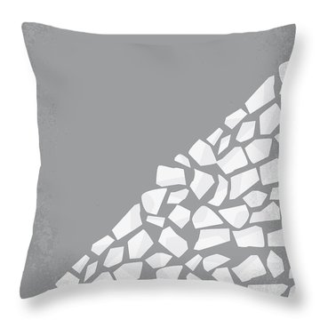 No091 My The Hill Minimal Movie Poster Throw Pillow